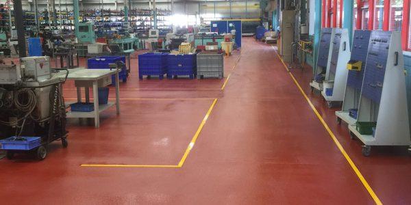 Epoxy Polyurethane Flooring (EPU)